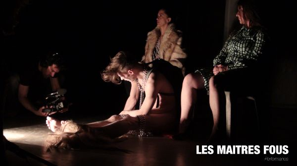 Performance les Maitres Fous (2017) - Jeremy Demesmaeker & Laurence Maillot